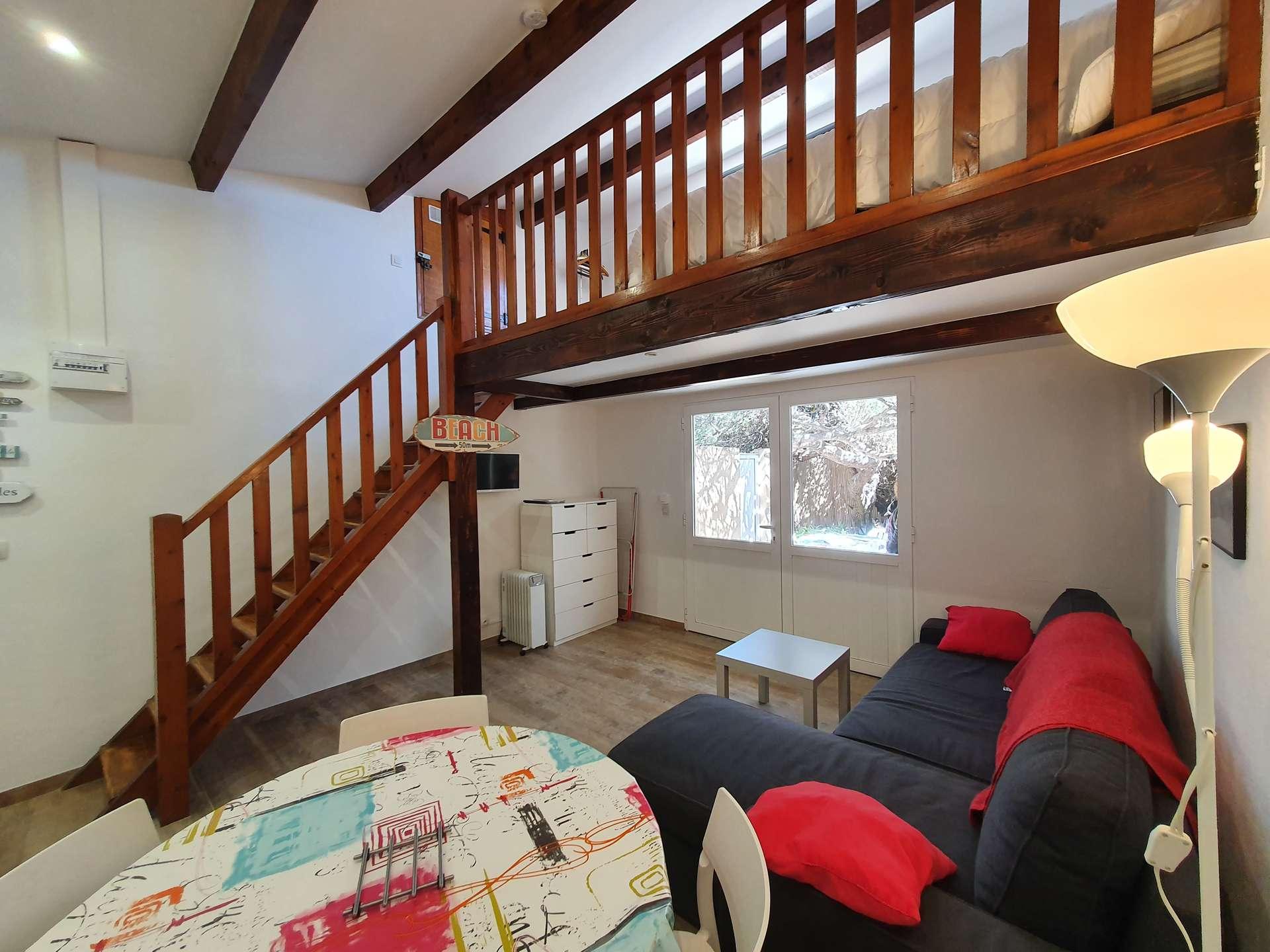 Studio + Mezzanine Hyères (La Capte)